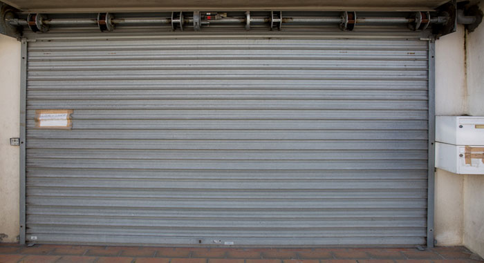 Commercial roll up door repairs Greenfield